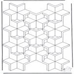 Coloriages faits divers - Formes géométriques 7