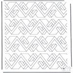 Coloriages faits divers - Formes géométriques 8