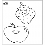 Coloriages faits divers - Fruit 2