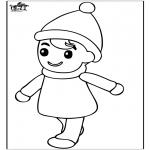 Coloriages pour enfants - Garçon 2
