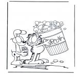 Personnages de bande dessinée - Garfield 2