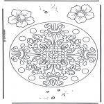 Mandala - Geomandala de Fleurs