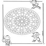 Mandala - Geomandala enfant 1