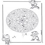 Mandala - Geomandala enfant 3