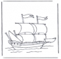Grand yacht à voiles