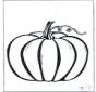 Halloween courge