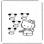 Personnages de bande dessinée - Hello Kitty 12