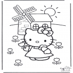 Personnages de bande dessinée - Hello kitty 16