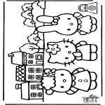 Personnages de bande dessinée - Hello Kitty 20