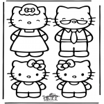 Personnages de bande dessinée - Hello Kitty 22