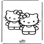 Personnages de bande dessinée - Hello Kitty 25