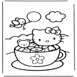 Personnages de bande dessinée - Hello kitty 9
