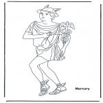 Coloriages faits divers - Hermes