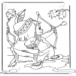 Personnages de bande dessinée - Hiawatha 1