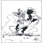 Personnages de bande dessinée - Hiawatha 2