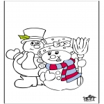 Coloriages hiver - Hiver 18