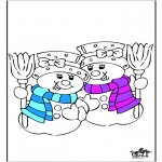 Coloriages hiver - Hiver 20