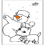 Coloriages hiver - Hiver 22