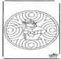 Hiver - mandala 1