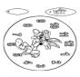 Horloge Bugs Bunny