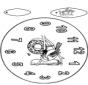 Horloge oiseau