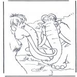 Personnages de bande dessinée - Ice Age 11