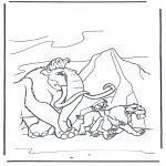 Personnages de bande dessinée - Ice Age 9