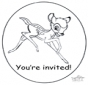 Invitation - Bambi