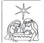 Jésus en la mangeoire