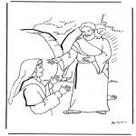 Coloriages Bible - Jésus est ressuscité