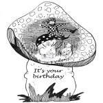 Coloriage thème - Joyeux anniversaire 9