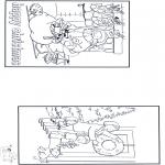 Bricolage coloriages - Joyeux Noël 3