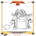 Personnages de bande dessinée - Kung Fu Panda 2 Dessin 3