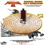 Personnages de bande dessinée - Kung Fu Panda 2 - Labyrinthe