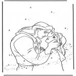 Personnages de bande dessinée - La Belle et la Bête 2