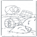 Personnages de bande dessinée - La ferme se rebelle 3