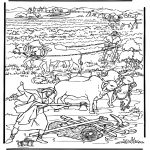 Coloriages Bible - La nouvelle terre 2