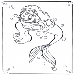 Personnages de bande dessinée - La petite sirène 1
