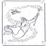 Personnages de bande dessinée - La petite sirène 2