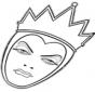 La reine mauvaise