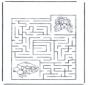 Labyrinthe fille