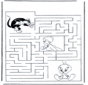 Labyrinthe Titi et Grosminet