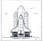 Lancement de fusée