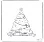 l'arbre de Noël décoré