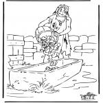Coloriages Bible - Le fils prodique 3