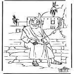 Coloriages Bible - Le fils prodique 5