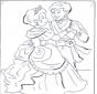 Le prince et Cendrillon