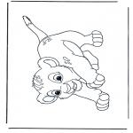Personnages de bande dessinée - Le Roi Lion Simba