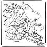 Coloriages faits divers - Légume 3