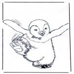Personnages de bande dessinée - Les petits pieds du bonheur 4